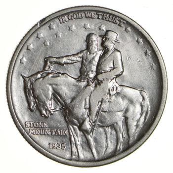 Stonewall Jackson - 1925 - STONE MOUNTAIN - US United States Commemorative Half Dollar