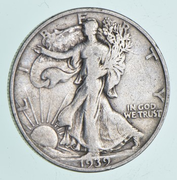 Strong Feather Details - 1939-S Walking Liberty Half Dollar