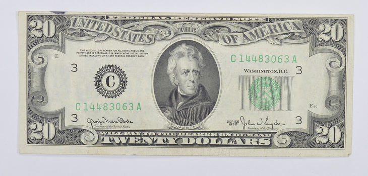 SWEET - Better 1950 $20.00 US Federal Reserve Note