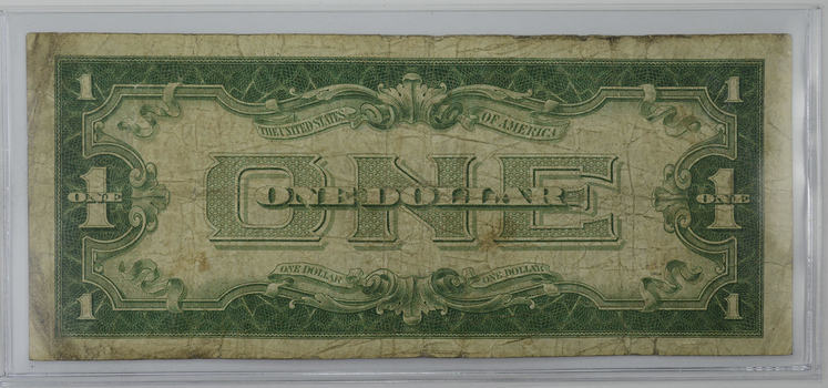 TOUGH - 1928-A $1.00 Funny Back - Silver Certificate - Monopoly Money - Very Collectible