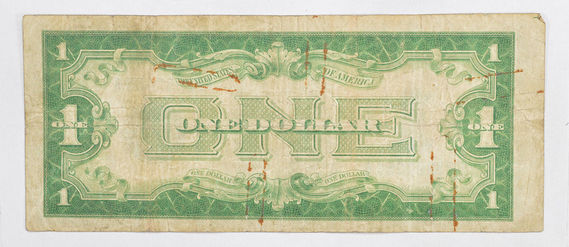 TOUGH - 1934 $1.00 Funny Back - Silver Certificate - Monopoly Money - Very Collectible
