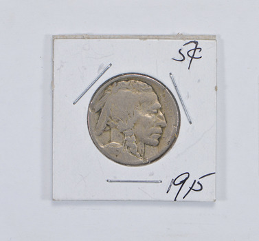 Tough - First Decade Minted - 1915 Buffalo Nickel - Look it up!