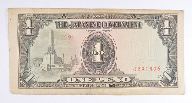Tough - Japanese - Military Payment - Allied Forces Currency