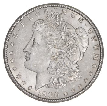 Unc Uncirculated 1900 Morgan Silver Dollar - $1.00 Mint State MS BU