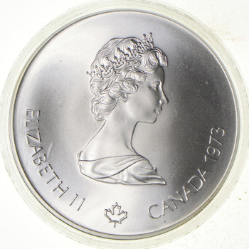 Very Collectible - ASW .7227 T Oz Pure SILVER - Olympic Canada Commemorative
