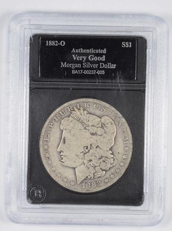 VG 1882-O Morgan Silver Dollar - Slabbed