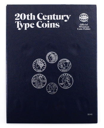 Whitman Blue Book Coin Folder 20th Century Type Coins