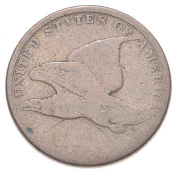Worn Date Flying Eagle Cent - Very Tough - Issued for only 3 Years
