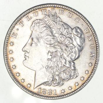 W@W Early 1881-O Morgan Silver Dollar - 90% US Coin - Nice Coin