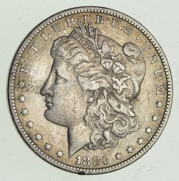 W@W Early 1883 Morgan Silver Dollar - 90% US Coin - Nice Coin