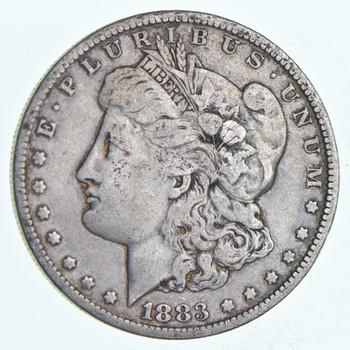 W@W Early 1883-O Morgan Silver Dollar - 90% US Coin - Nice Coin