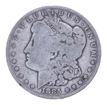 W@W Early 1885-O Morgan Silver Dollar - 90% US Coin - Nice Coin