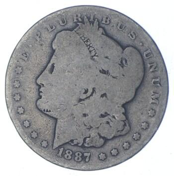 W@W Early 1887-O Morgan Silver Dollar - 90% US Coin - Nice Coin