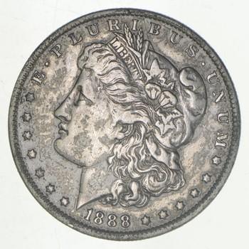 W@W Early 1888-O Morgan Silver Dollar - 90% US Coin - Nice Coin