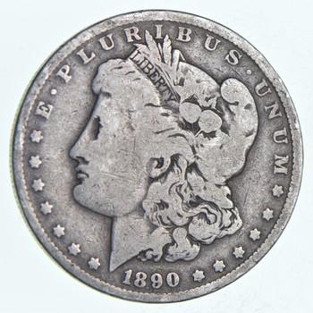W@W Early 1890-O Morgan Silver Dollar - 90% US Coin - Nice Coin