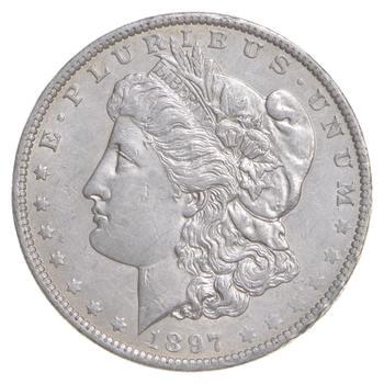 W@W Early 1897-O Morgan Silver Dollar - 90% US Coin - Nice Coin