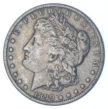 W@W Early 1899-O Morgan Silver Dollar - 90% US Coin - Nice Coin