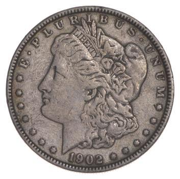 W@W Early 1902 Morgan Silver Dollar - 90% US Coin - Nice Coin