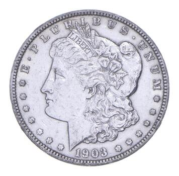 W@W Early 1903 Morgan Silver Dollar - 90% US Coin - Nice Coin