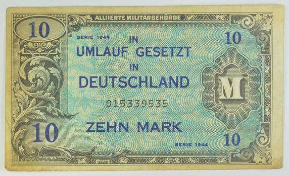WWII Military Script - Allied Forces - Historic Note