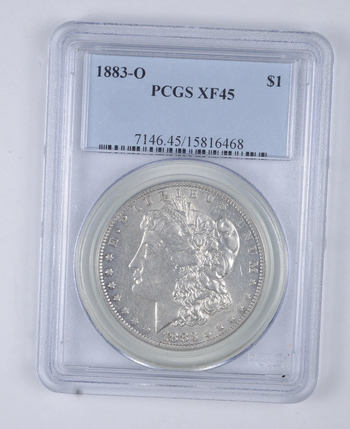 XF45 1883-O Morgan Silver Dollar - Graded PCGS
