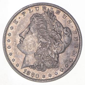 XF/AU 1880-O Morgan Silver Dollar - Great Details!