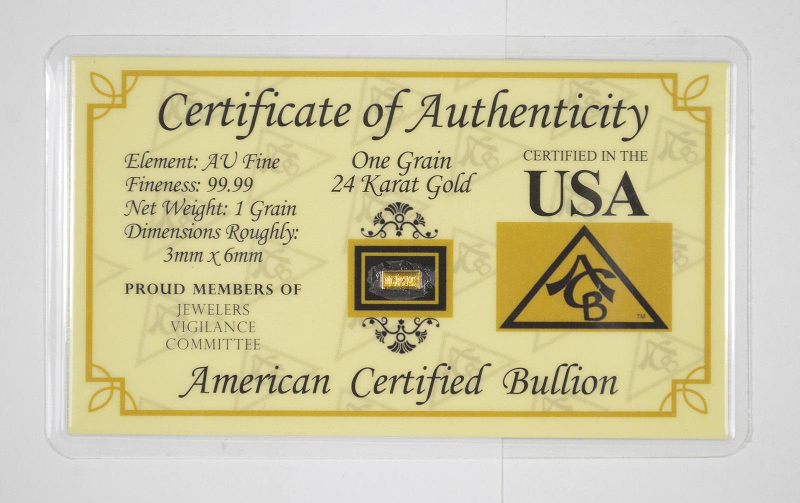 AUTHENTIC BENCHMARK STRATEGIC 1//4 grain 24K GOLD BAR .9999 fine GOLD