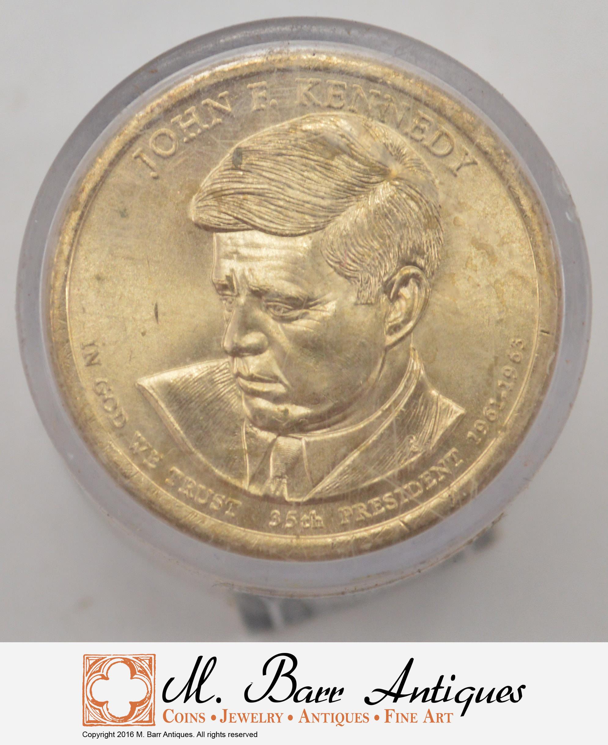 2015 P /& D  John F Kennedy  Dollar Coin Set    2 Coins  UNCIRCULATED