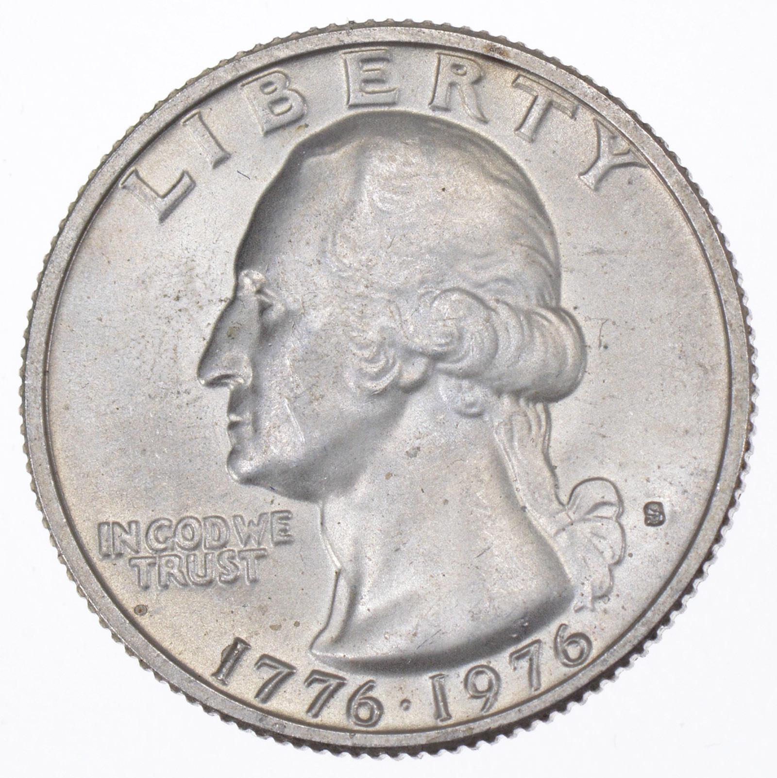 1776 1976 Washington Silver Bicentennial Quarter 40