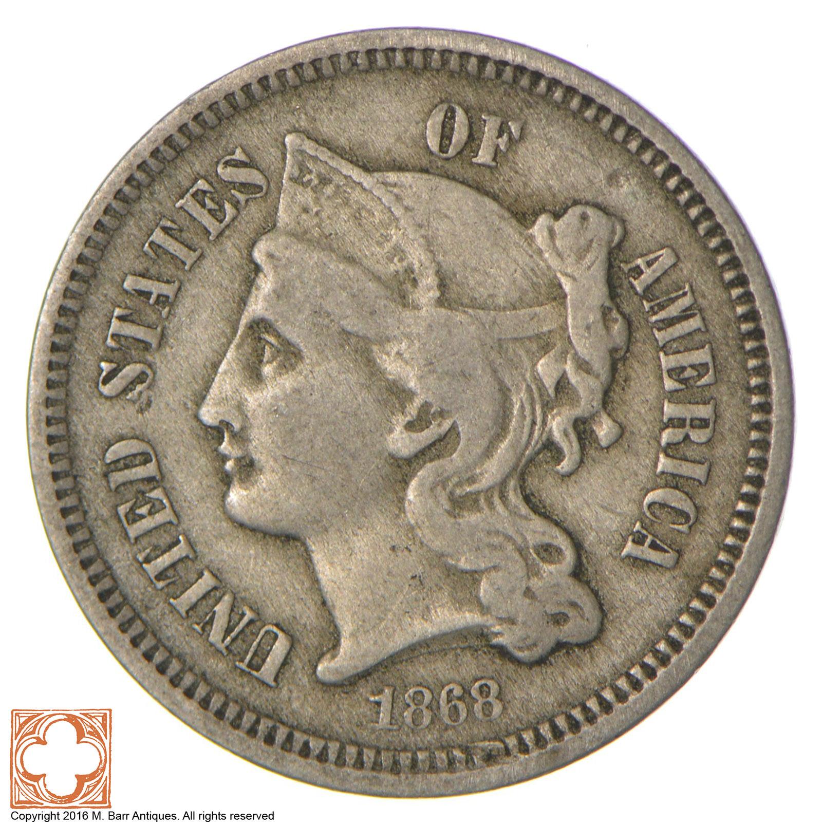 three cent coin