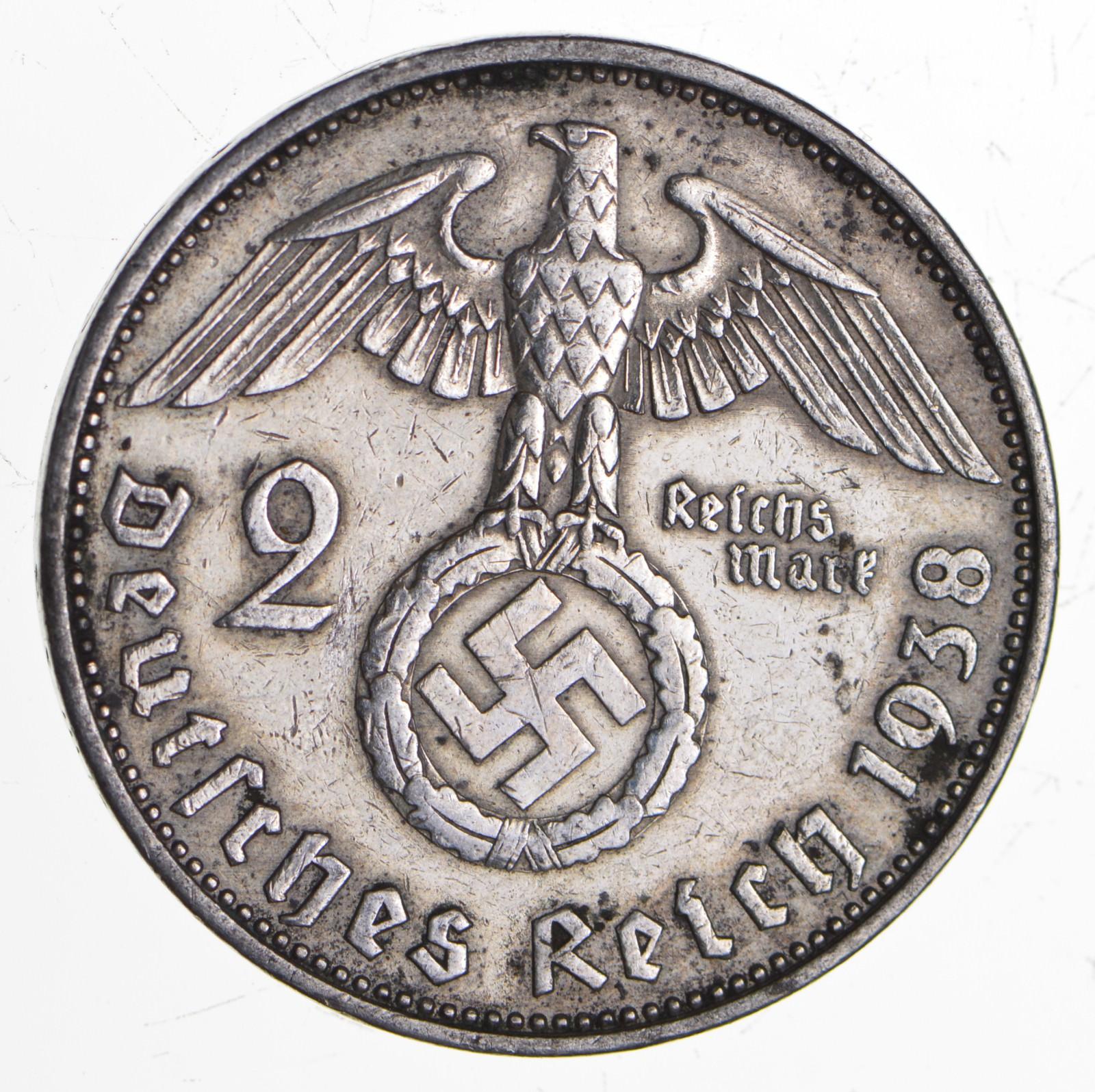 1938 german coin
