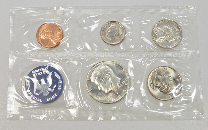 1965 US Mint Silver Special Set