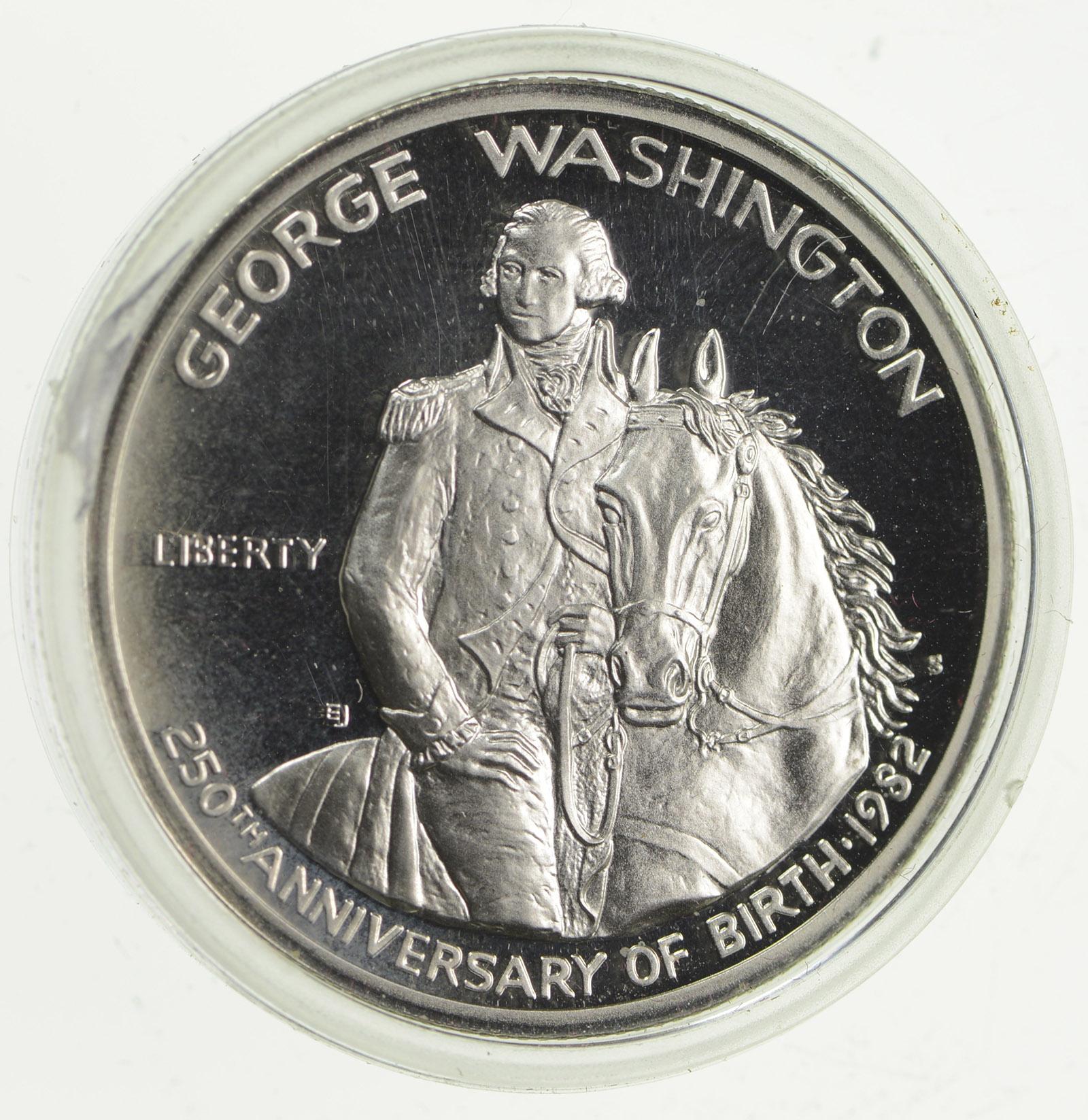 george washington 1982 commemorative coin