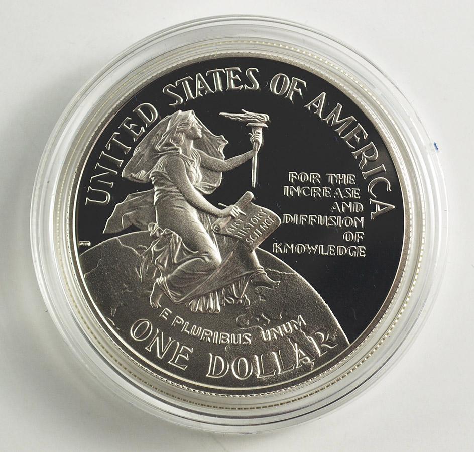 1984 Canada $1 Dollar 150th Anniversary Toronto Silver Proof Coin W//Coa