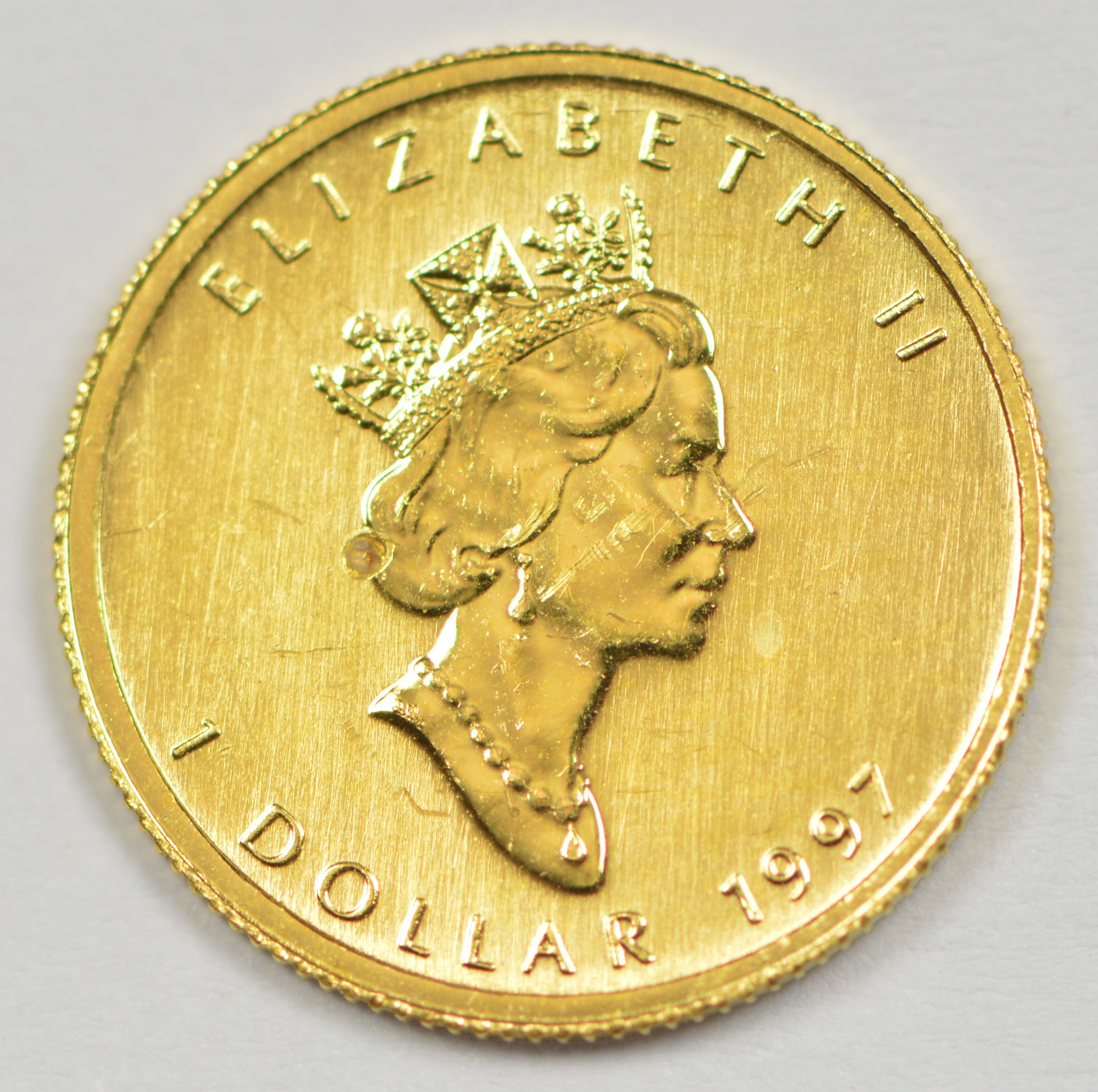 1997 Canada 1 999 Gold Coin Agw 1 20 Oz Property Room