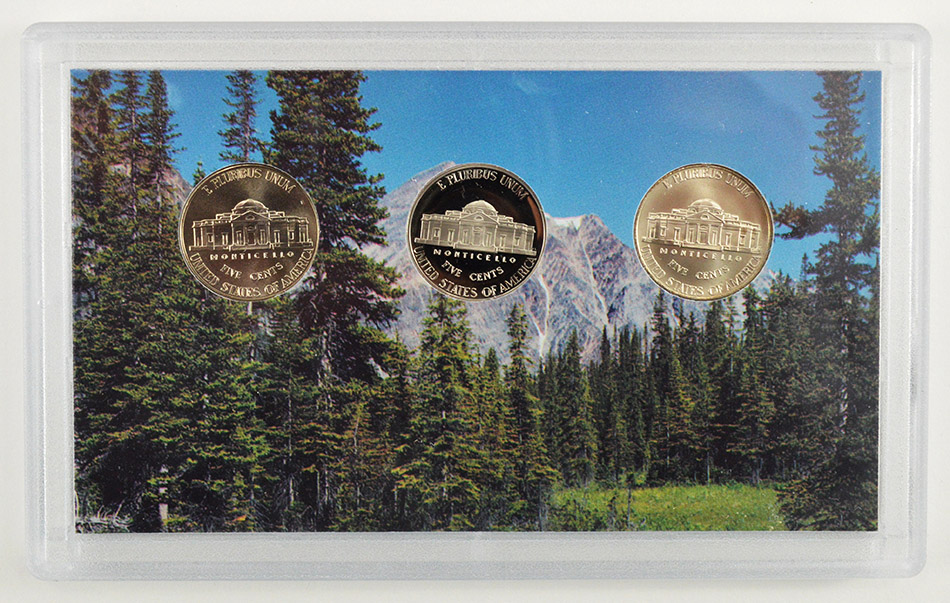 2006 3 Coin Westward Journey Jefferson Nickel Set