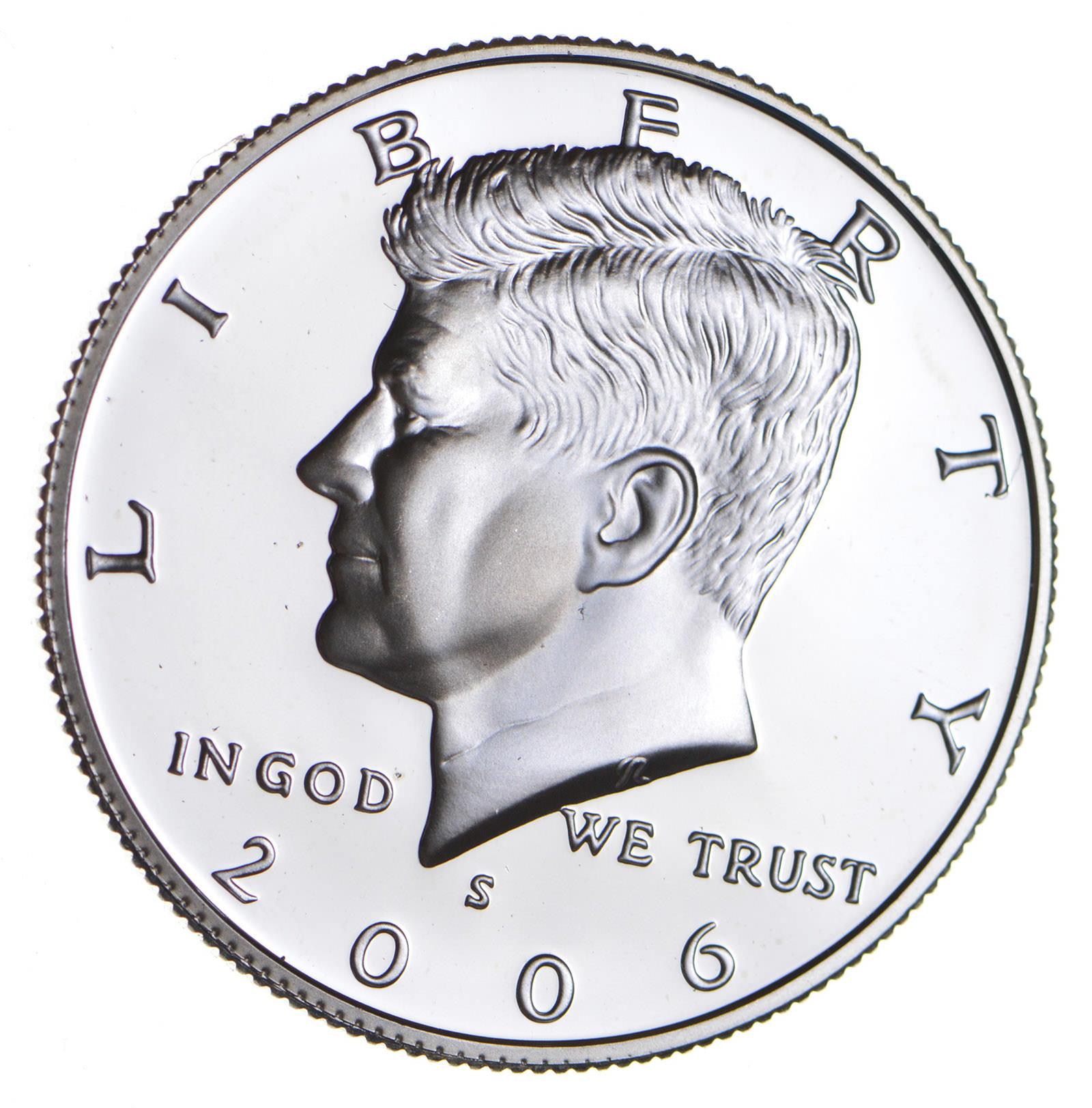 Gem Proof Deep Cameo U.S 2001-S Kennedy Half Dollar Coin