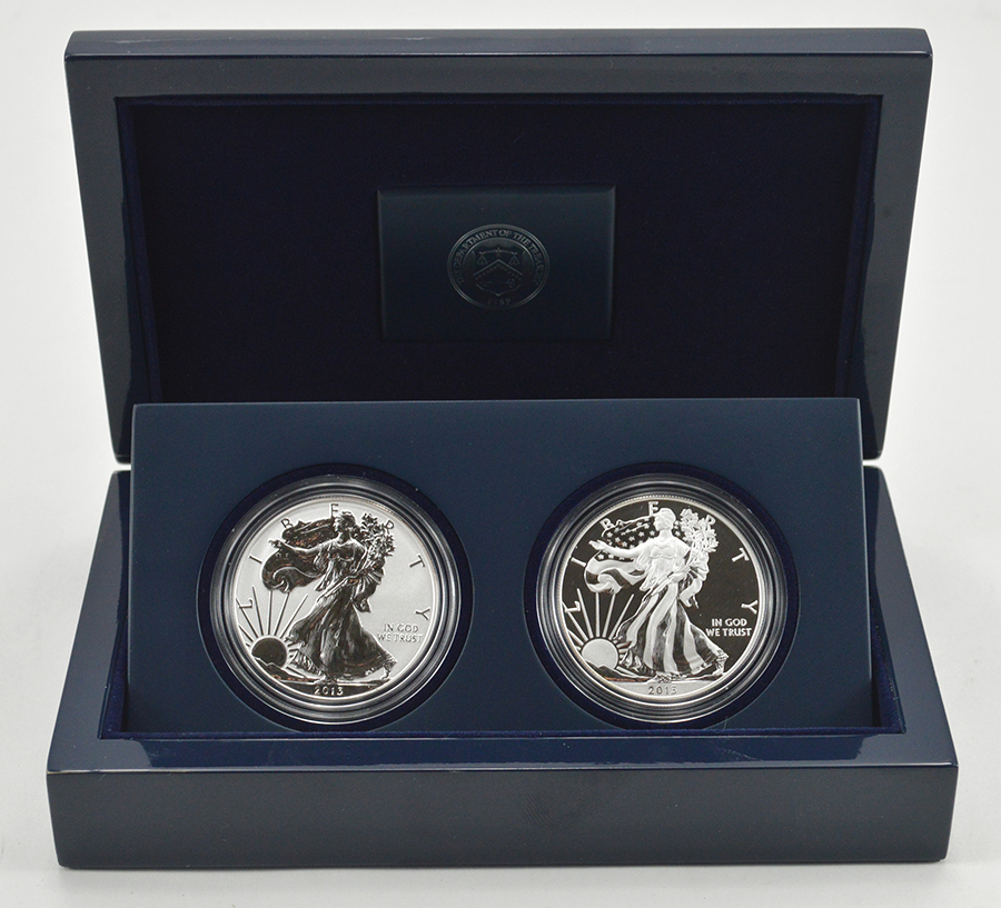 2013 West Point Reverse Proof Amp Enhanced Uncirculated