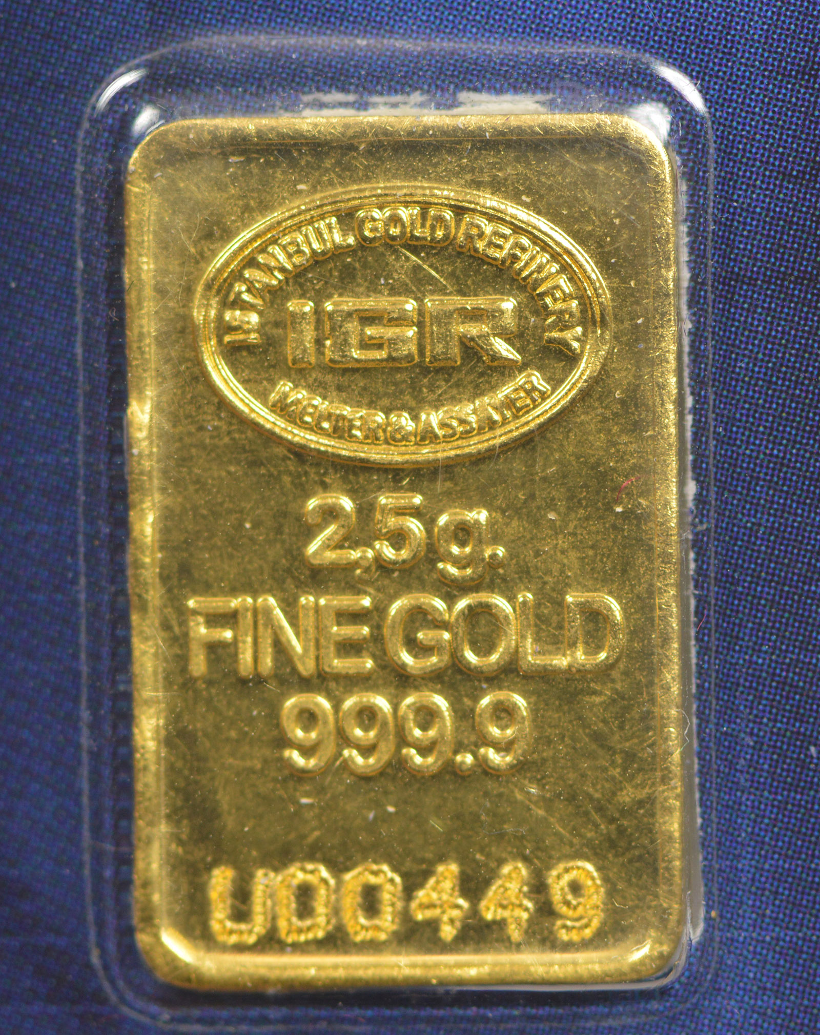 2 5 Gram 24k 9999 Pure Gold Bar Goldgram Sealed With