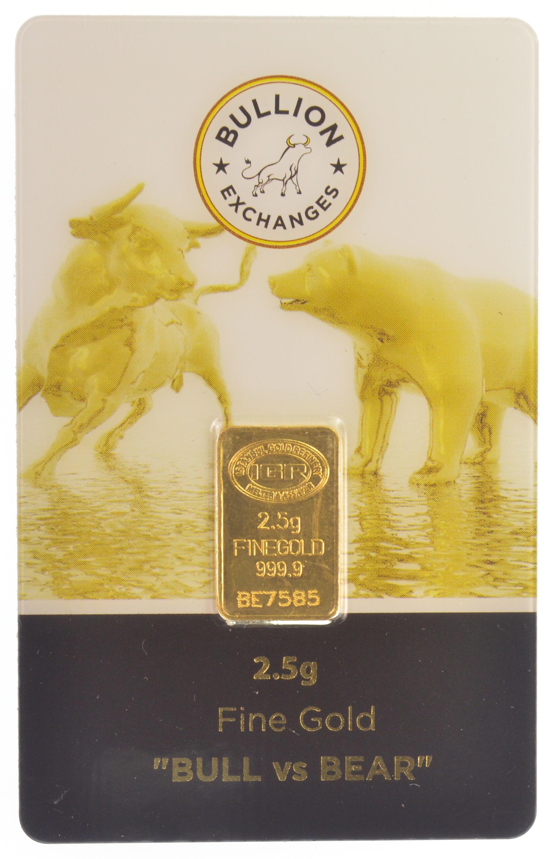Silver Standing Bear  2.5 Gram Bar .999 Fine