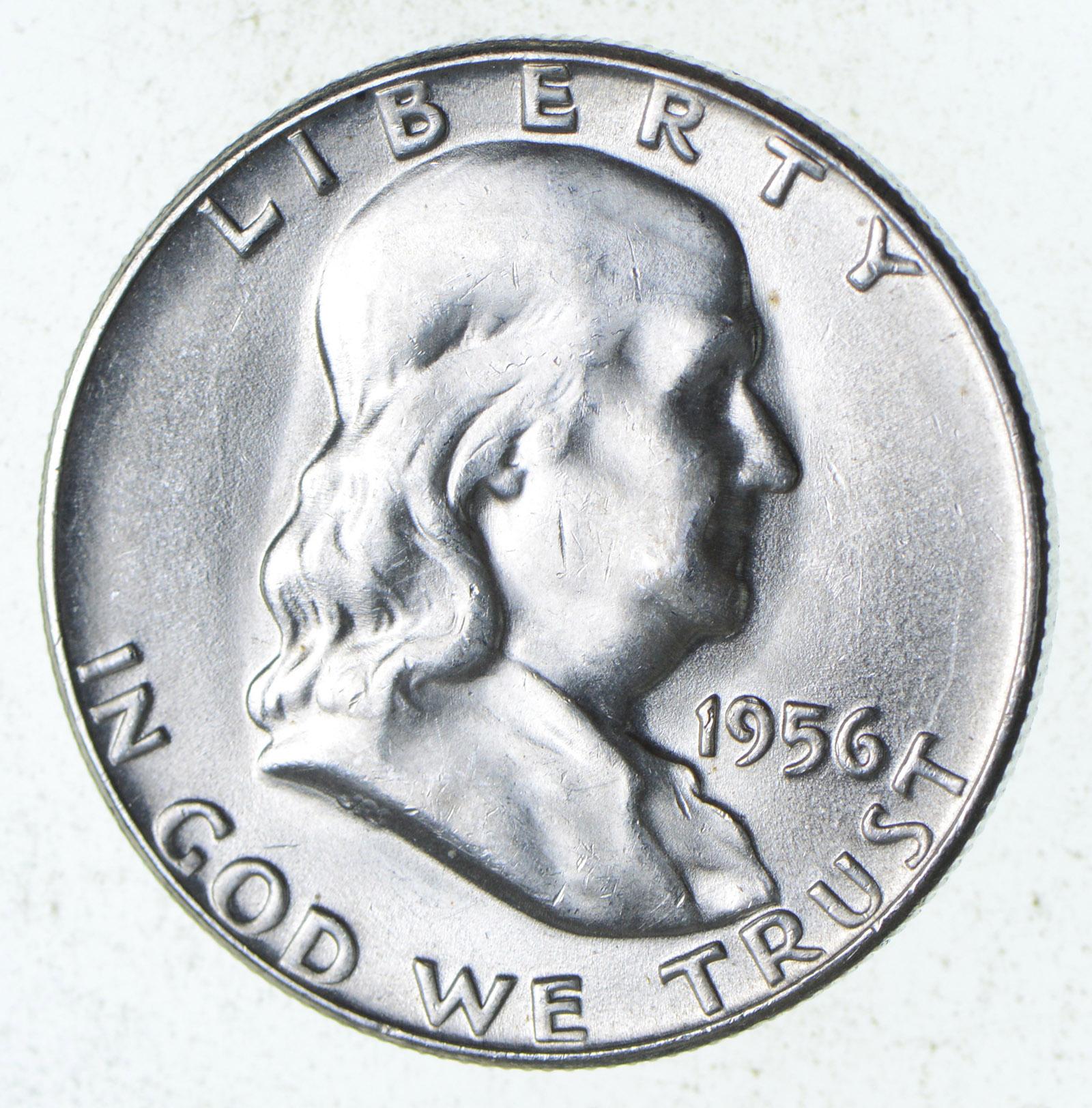 Choice Uncirculated 1956 Franklin Half Dollar