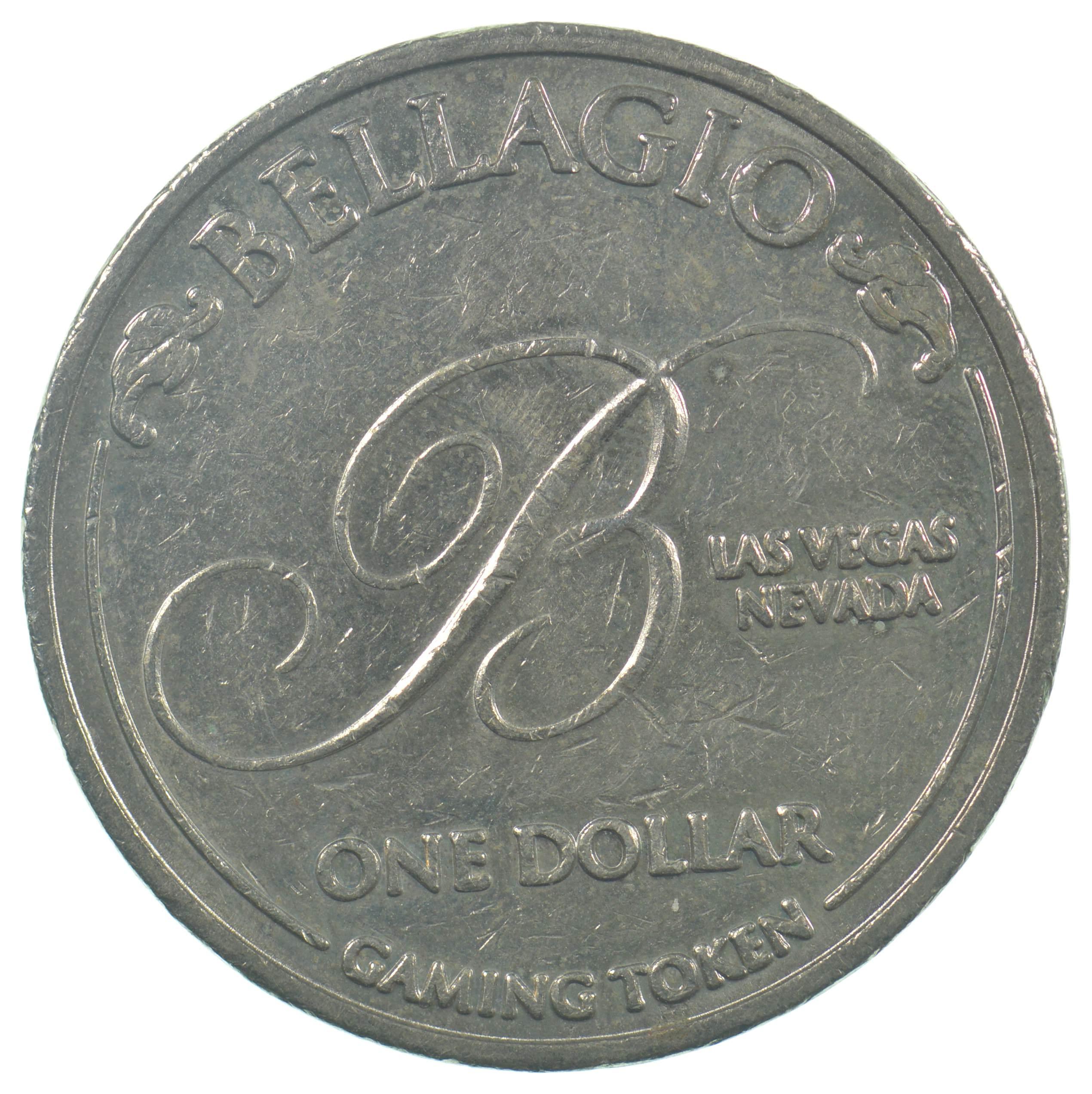 BELLAGIO  LAS VEGAS  NEVADA   $5.00  GAMING TOKEN
