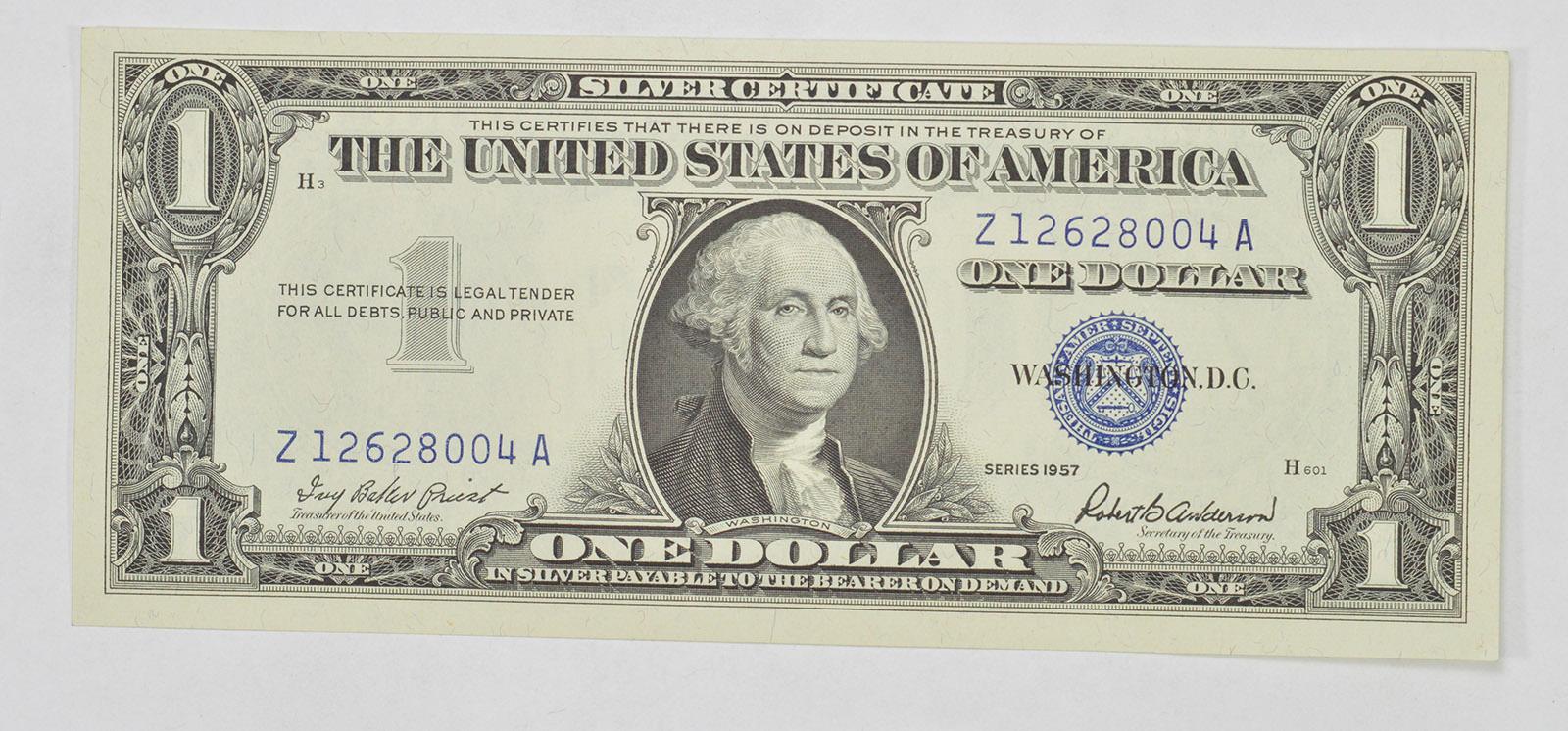 Crisp Unc 1957 100 Silver Certificate Notes Brand New Us Dollar