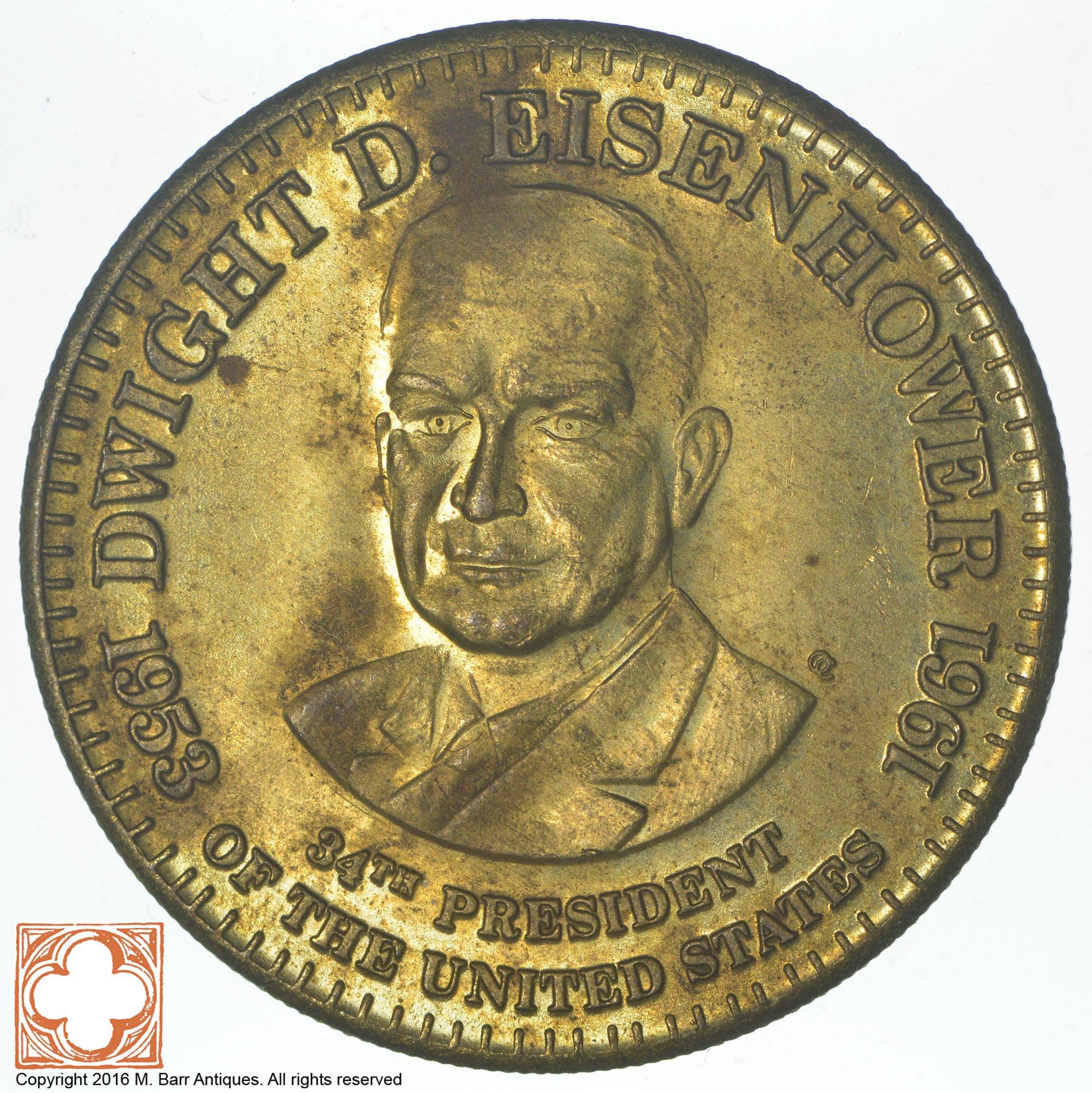 Dwight D 34th President Eisenhower 1953-1961 Million Dollar Novelty Money