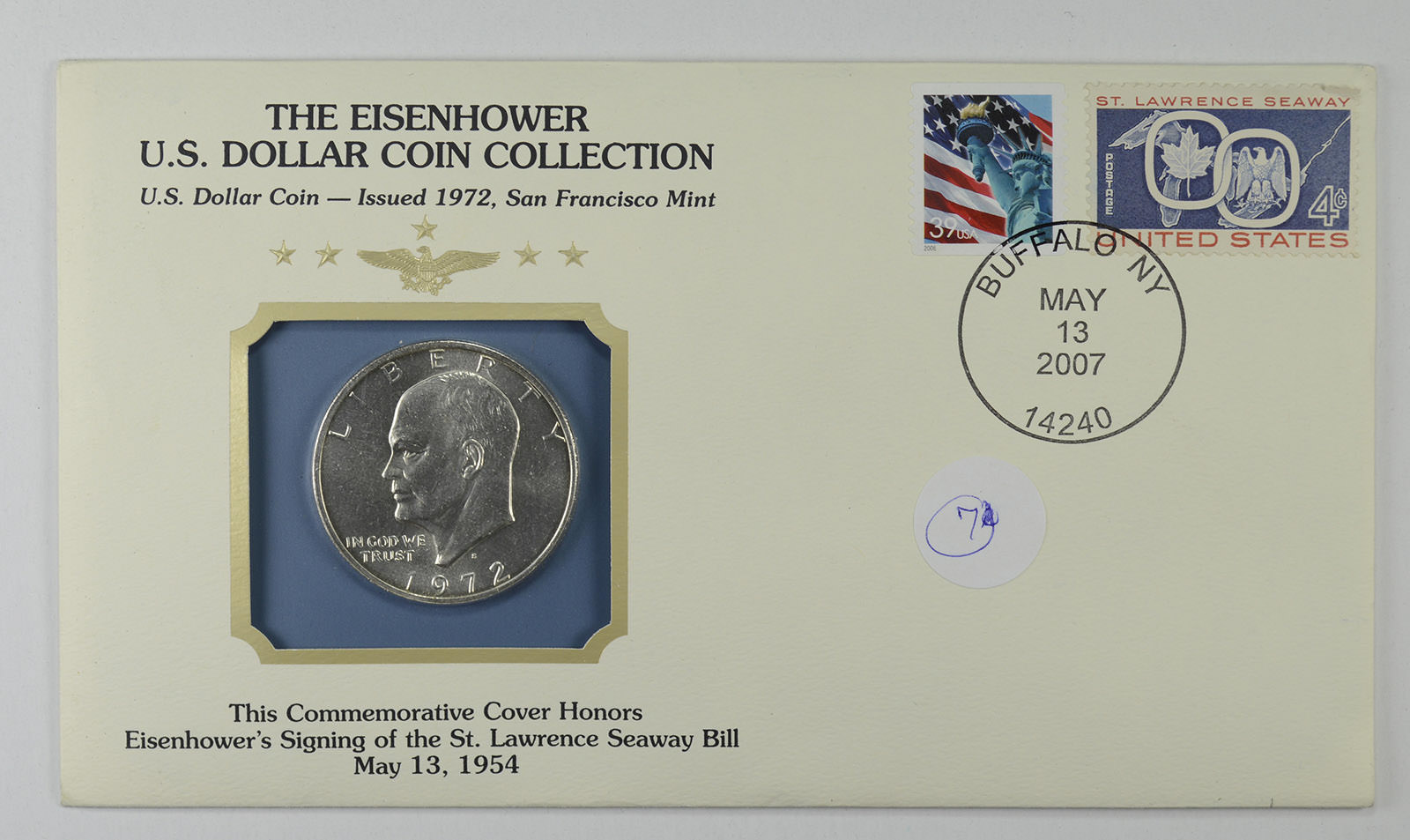 Eisenhower Dollar Collection Historic Us Includes Silver Stamp Jpg 1600x953 Uncirculated