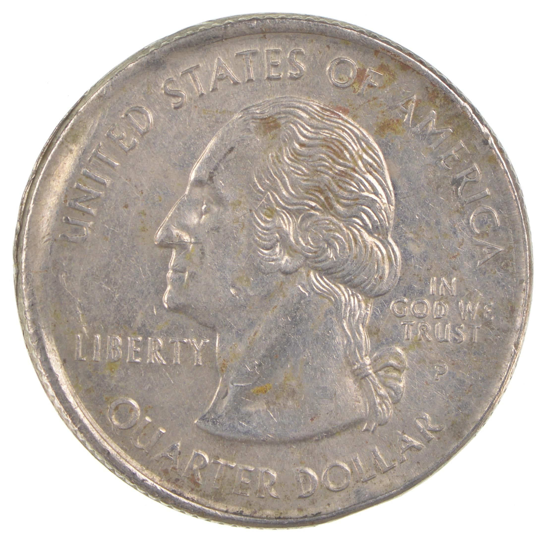 **FREE SHIPPING** 1999 P /& D Connecticut Quarter Coin Set 2 Coins