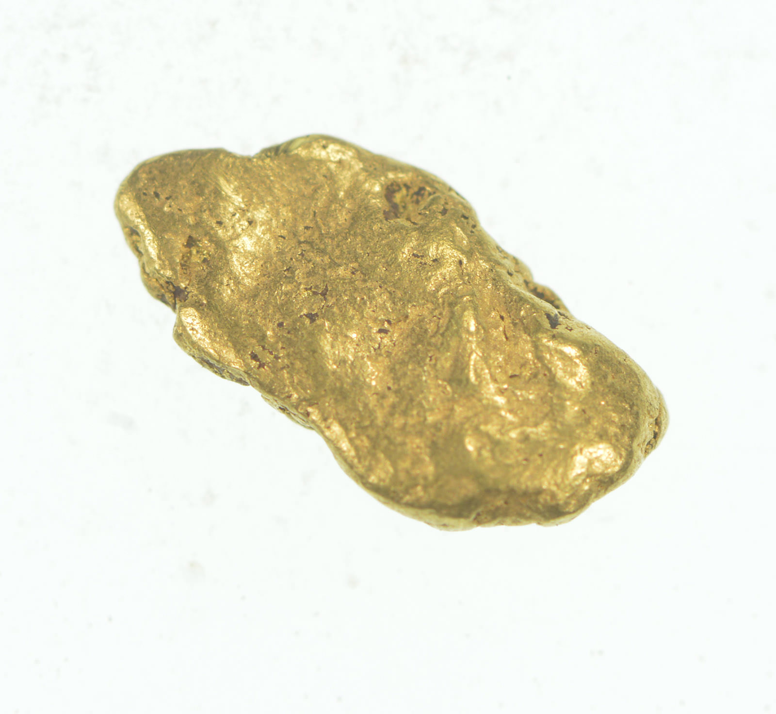 Gold Rush - Idaho Gold Nugget - Raw High Karat - 0 7g Original Gold