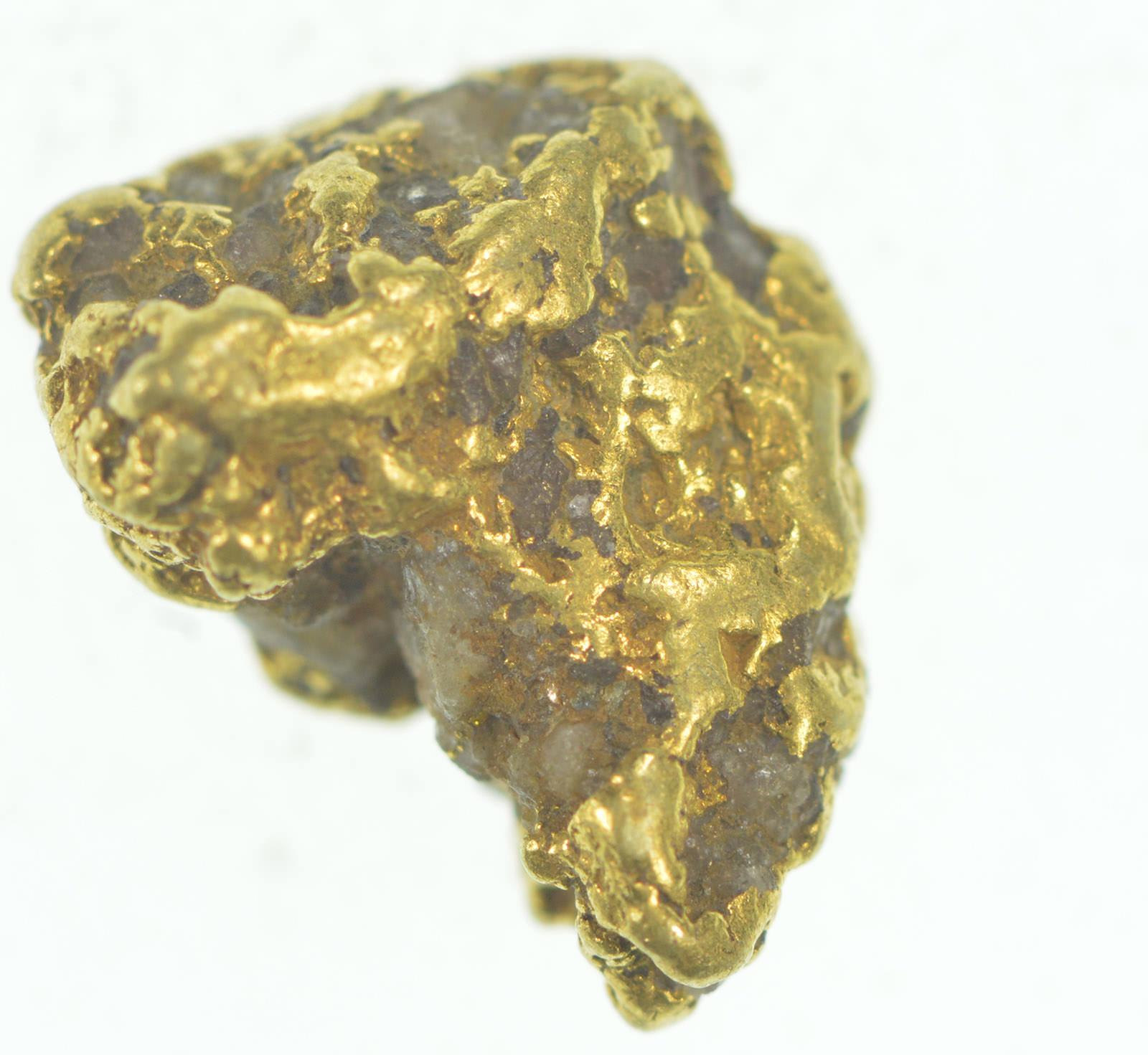 Gold Rush - Idaho Gold Nugget - Raw High Karat - 2 7g