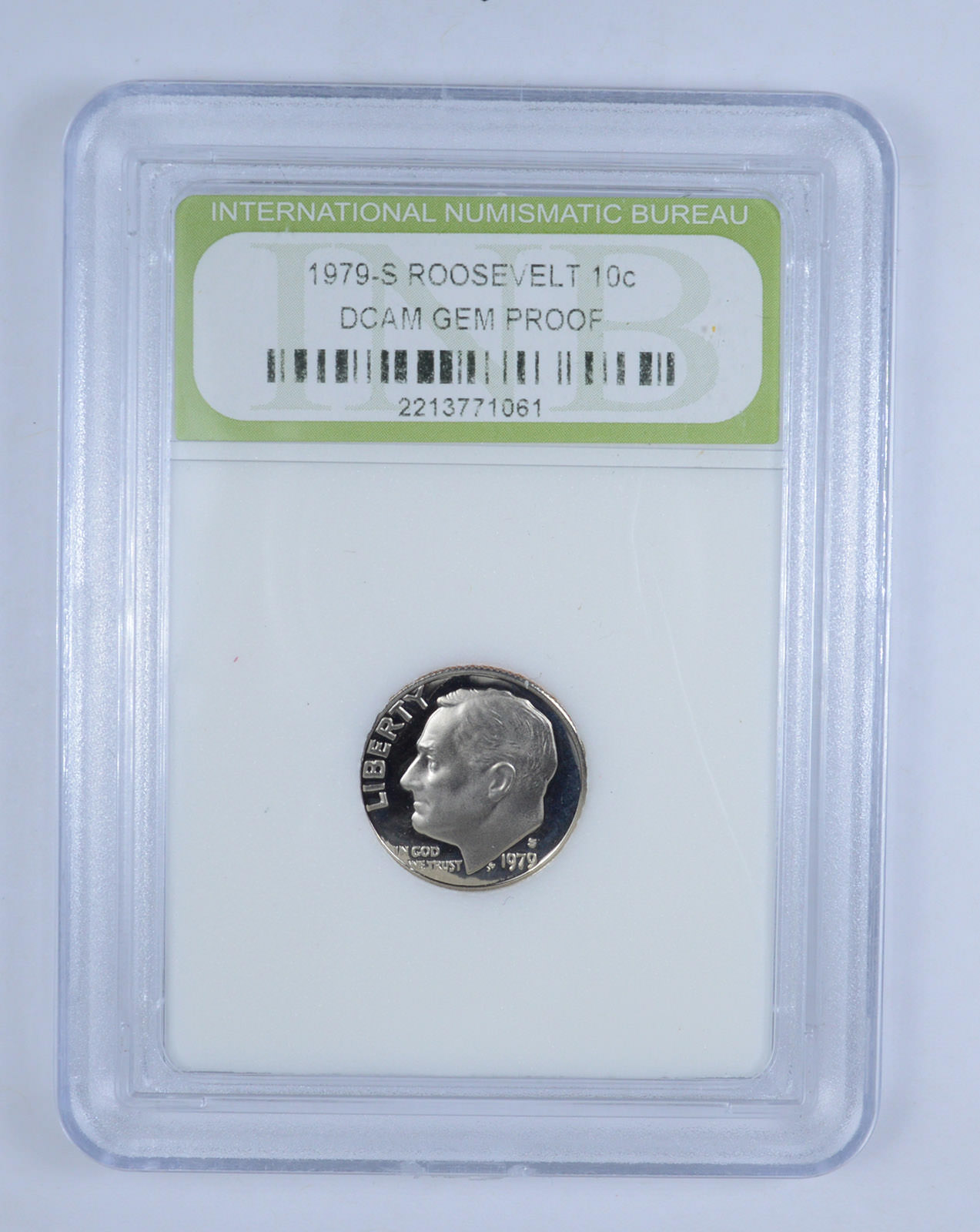1 1979-S *Type 2* Roosevelt Dime //// Gem Proof DCAM //// 1 Coin