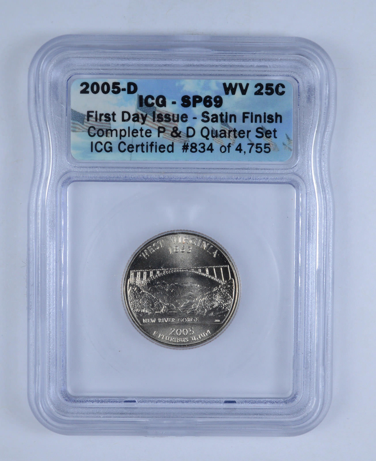 2005-D    SATIN  FINISH      PCGS   MS68   KENNEDY  50c